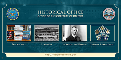 Historical Office of the Secretary of Defense Conference Banner